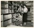 Bookmobile - Interior View
